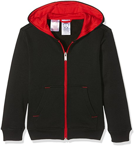 adidas Jungen NBA Chicago Bulls Fanwear Hoodie, Black/Red, 140