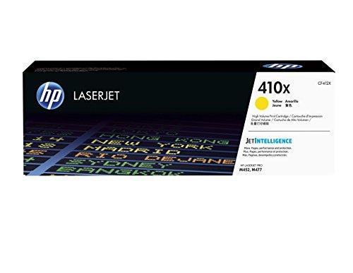 HP 410X (CF412X) Gelb Original Toner mit hoher Reichweite für HP Color Laserjet Pro M452, HP Color Laserjet Pro M477