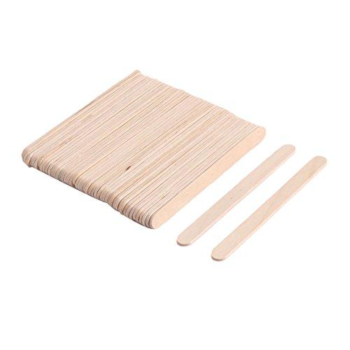 aus Holz Selberbasteln Handwerk Gefrierfach Eiscreme Pop behandeln Stöcke Bar 11,5cm Länge de ()