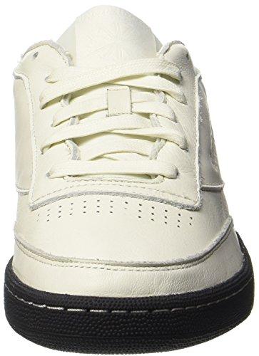 Reebok Club C 85 Np, Chaussures Hommes Beige (craie / Noir)