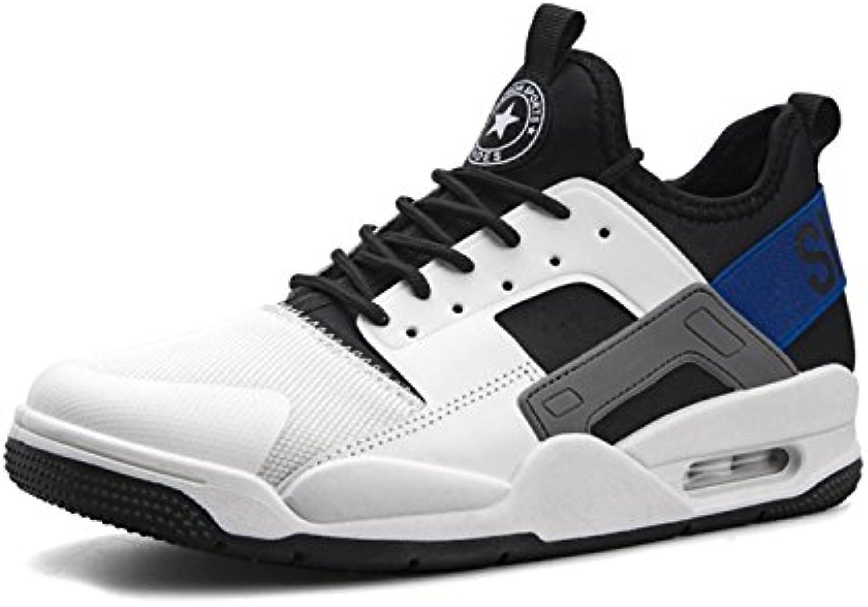 TQGOLD Hombre Zapatillas Running Aire Libre y Deporte Transpirables Casual Zapatos Gimnasio Correr Sneakers