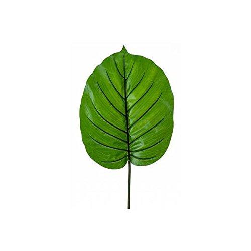 Emerald künstliches Blatt, Palmblatt XL Alocasia H. 95cm grün
