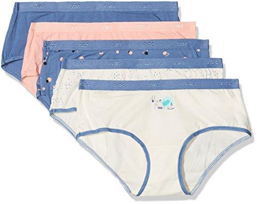 Dim Damen Boxershorts Trousse boxer pocket coton x5 Multicolore (Lot Moonlight)