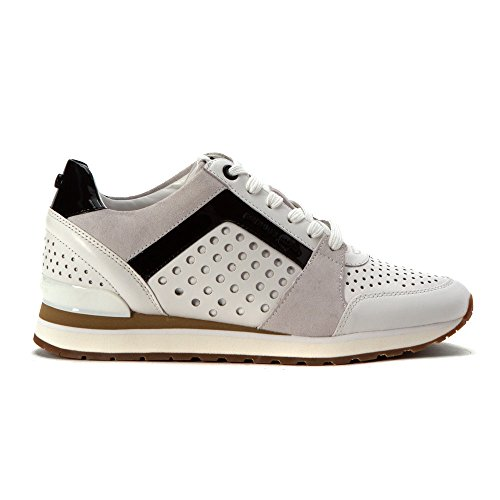 MICHAEL by Michael Kors Billie Optic Blanc Baskets Femme Blanc