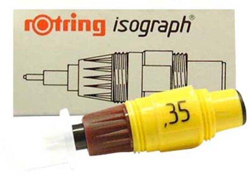 rOtring S0217870 Zeichenkegel - Isograph, 0.1 metrisches System, Reihe 2