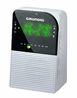 Grundig Sonoclock 790 DCF - Radio (Reloj, Digital, FM, 0,55W, LED, 3,5 mm) Color blanco (B005LARXC2) | Amazon price tracker / tracking, Amazon price history charts, Amazon price watches, Amazon price drop alerts