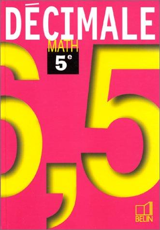 Math 5e 97 - livre de l'élève