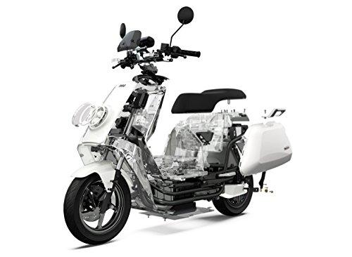 NIU N1S Elektroroller E-Scooter - Panasonic Li-Ion Akku - 80 km Reichweite - Bosch Motor - 45 km/h - Zweisitzer // angeboten von RollingBull® (schwarz) - 9