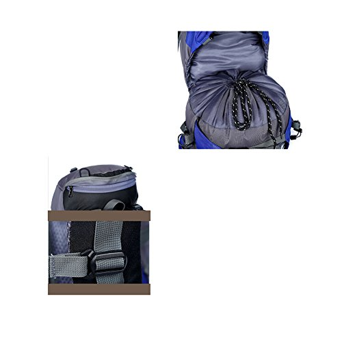 YAAGLE Outdoor Sporttasche Bersteigen Taschen Camping Rucksack professionelle wasserdicht Fahrradrucksack Damen und Herren Unisex Grün