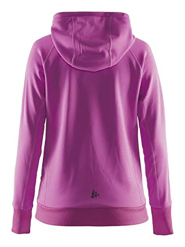Craft Damen Pure Tunnel Hoodie W Kapuzenpullover Smoothie/Pop