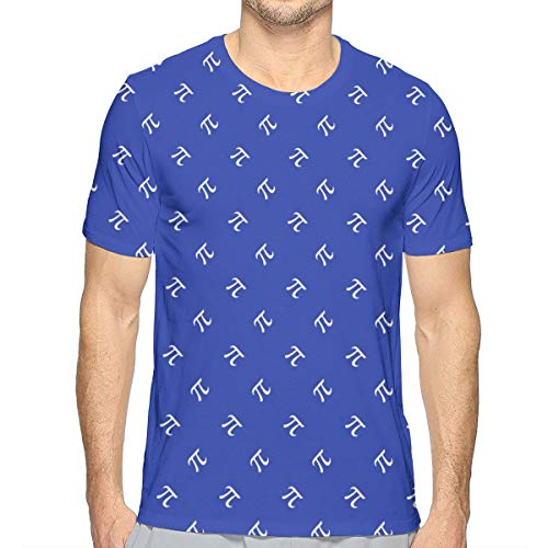 f9f4ae42fba6 Men s Short Sleeve Blueberry Pi Diamonds T-Shirts Tee Tops S