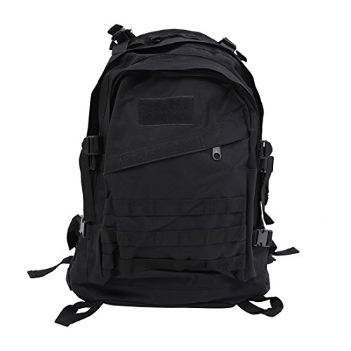 Imagen de   sodial r al aire libre 40l 600d tela de oxford impermeable  bolso tactico del camuflaje de militar de acu de deportes viaje senderismo bolsa de color negro