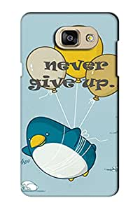 AMAN Give Up 3D Back Cover for Samsung Galaxy A5 2016