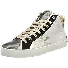 Womens 25606ks1 Low-Top Sneakers Crime London l04KcEOq
