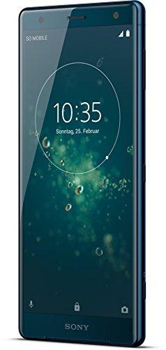 """索尼的Xperia XZ2双SIM 4G 64GB绿色 - 智能手机(14.5厘米(5.7""""),GB 64,19 MP,机器人,8,绿)德国版]"""