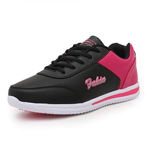 Dtuta Beleg auf Schuh-Frauen, beiläufige Ineinander greifen-gehende Turnschuhe Bequeme Schuhe Leichte athletische beiläufige Turnschuhe