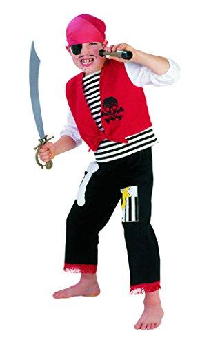 unge 2-teilig (Verwegene Piraten Kostüm)