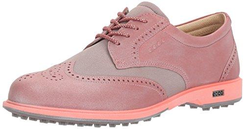 Ecco Womens Classic Hybrid, Chaussures de Golf Femme, Pink (50421PETAL/Petal Trim), 38 EU