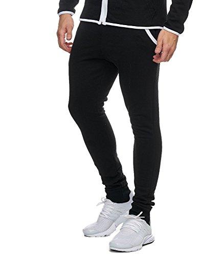 Violento -  Pantaloni sportivi  - Uomo Nero