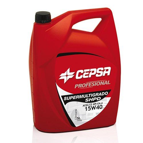 CEPSA 527863072 Mineralöl für schwere Diesel-Motoren S.Mult.SHPD 15W40, 5 Liter - Cummins-diesel-motor