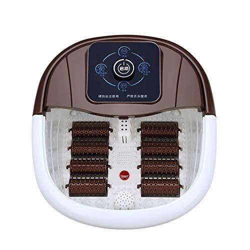 Preisvergleich Produktbild KOSHSH Luxuriöses Fußbad mit Durchlauferhitzer,  Multifunktionsblase Aromatherapie Diffusor Rollmassage Schmerzlindernde Füße