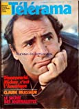 telerama no 1658 du 24 10 1981 disneyworld mickey claude brasseur le secret des journalistes
