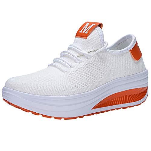 Sunnyadrain Air Uomo Donna Scarpe da Corsa Sportive Running Sneakers Casual all'Aperto