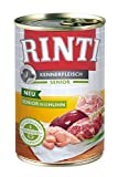 Rinti Kennerfleisch Senior+Huhn, 12er Pack (12 x 400 g)