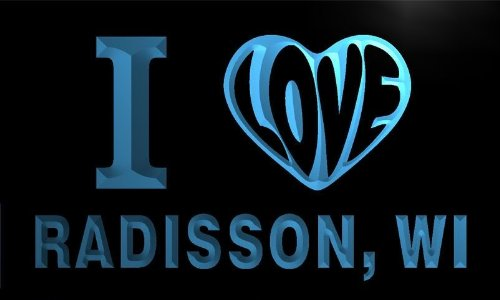 v69246-b-i-love-radisson-wi-wisconsin-city-limit-neon-light-sign