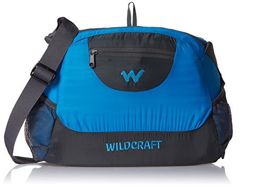 Wildcraft 16 Ltrs Blue Packable Casual backpack (Pac n Go Messenger 2_Blue)  available at amazon for Rs.583