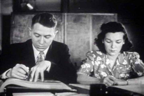 1945 Financial Accounting & Bookkeeping Vocational Film DVD: Accountant Career History