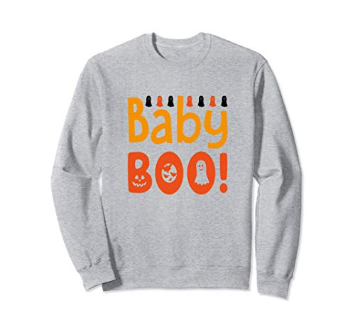 Baby Boo Schwangere Mutter Schwangerschaft Halloween Kürbis Sweatshirt (Kostüm Für Schwangere Mütter)