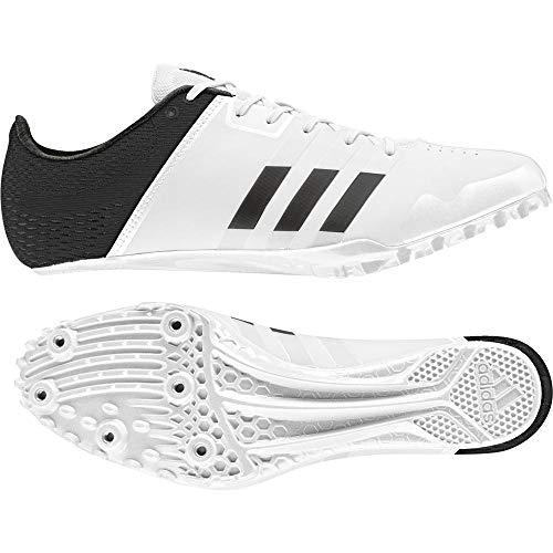 adidas Adizero Finesse, Scarpe da Atletica Leggera Unisex - Adulto, Nero (FtwrWhite/CoreBlack/FtwrWhite), 38 EU