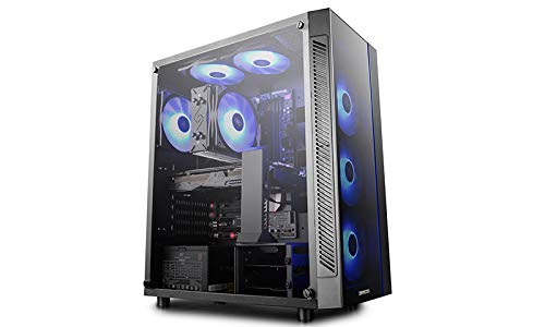 PC Desktop Gaming Complete Intel i7-7700 4.2GHZ - Colorful GEFORCE® GTX 1050 Ti Gaming 4GB GDDR5 - DDR4 16GB/ SSD 240GB + HD 1TB - Windows 10 GAMMAXXGT