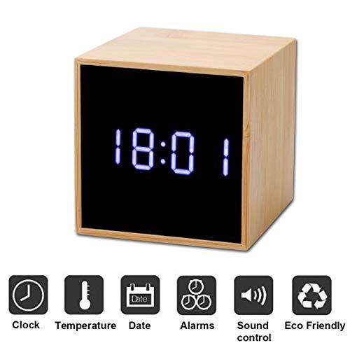 Kingterence Reloj Despertador Digital