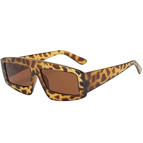 YWLINK Klassisch Strand Urlaub Retro Brillen Damen Herren Platz Sonnenbrillen Integrierte UV-GläSer Unisex
