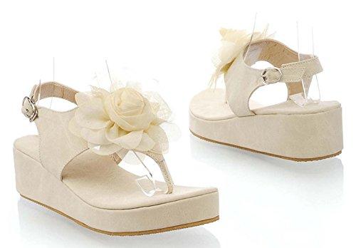 Insun , Sandales pour femme Beige - beige