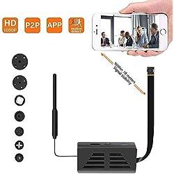 Cámara Oculta espía P2P, cámara inalámbrica de Seguridad 1080P Video con detección de Movimiento, Control de aplicación para iOS y Android 10M Estabilidad de la señal