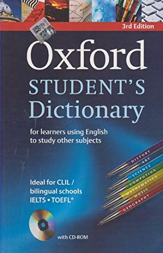 Oxford student's dictionary. Con CD-ROM