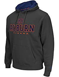 "Auburn Tigers NCAA ""Zone II"" Pullover Hooded Men's SweatShirt Chemise - Charcoal"