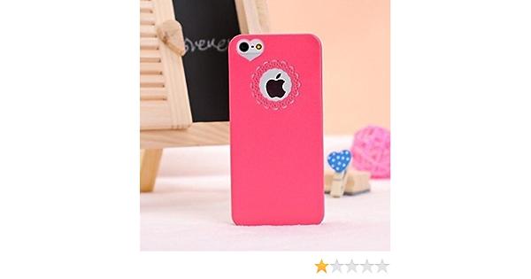 Coque pour iPhone 5/5S, Couleur Unie et Cœur (Autres Coloris ...
