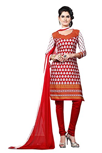 Straight Cut Style Maroon Color with Printed Work Incredible Unstitched Salwar Kameez