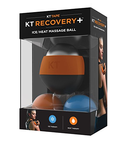 KT Tape Recovery + Ice/Wärme Massage Ball, Muskelschmerzen & Stress Relief, HSA/FSA geprüft, therapeutische Roller - Kalt-warm Therapeutische Massage