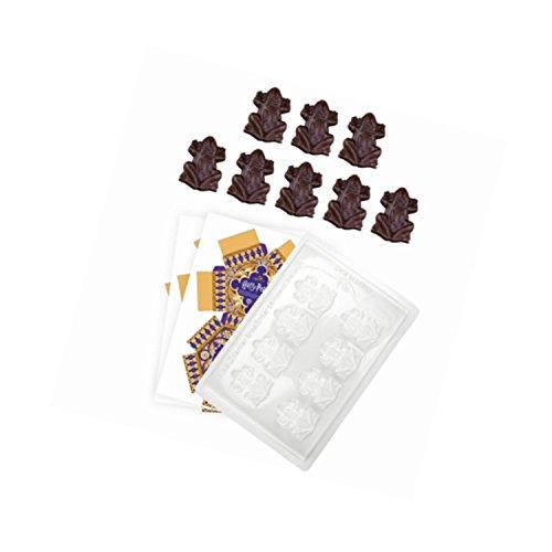 Harry Potter Rana De Chocolate - Oficial - Molde De Chocolate + 8 Cajas Auténticas