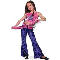 Rock Star Girl Kostum Popstar Sternchen Retro Kinder Kleid Fur Madchen