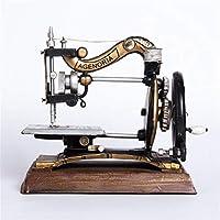 YoJu Sala De Estar Decoración Decoración del Hogar Decoración De Exterior Manualidades Máquina De Coser Antigua