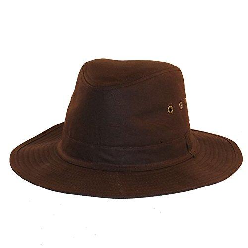 Chapeau-tendance - Chapeau huilé Marron Homme - 55 - Homme