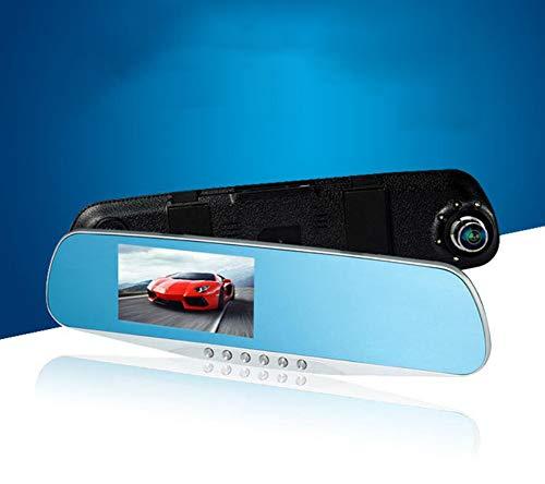 FENG On-Board 1080P 170 ° Kamera 4,3 Zoll Bildschirm, kommt mit wasserdichter Rückfahrkamera für Einparkhilfe, Dashcam Auto mit Bewegungserkennung - Dvr Dash-board-recorder