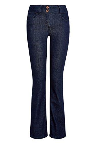 next Donna Jeans Bootcut Effetto Push-Up, Snellente E Modellante Rinse