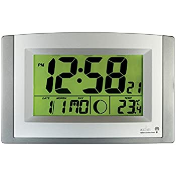 kwanwa digital led wall clock battery powered only 2